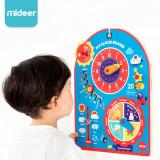 Calendar si ceas - Joc educativ din lemn, 40 cm x 30 cm