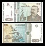Romania 1992 - 200 lei UNC