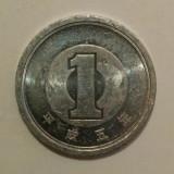 Japonia - 1 yen - 1998 (monedă, M0104) - starea care se vede