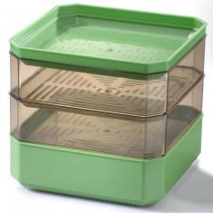 Germinator cu 2 tăvite BPA free