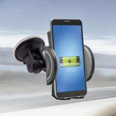 Suport de telefon auto cu incarcare fara fir