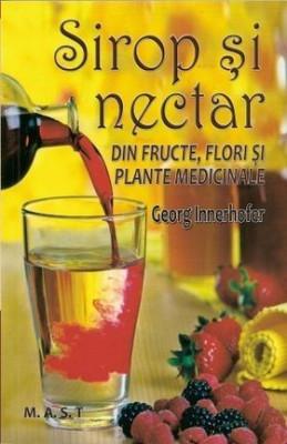 Sirop și nectar din fructe, flori și plante medicinale foto