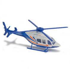Elicopter de Salvare cu Rotor Manual BELL429 Albastru