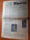 Sportul 6 august 1981-progresul vulcan a castigat cupa eliberarii,cu rapid 1-3