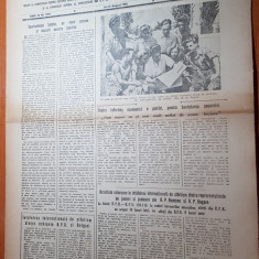 sportul popular 27 august 1953-intreceri viu disputate la oina,atletism,volei