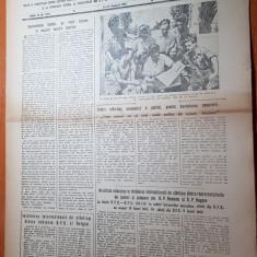 Sportul popular 27 august 1953-intreceri viu disputate la oina,atletism,volei