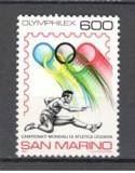 San Marino.1987 C.M. de atletism  SS.36