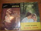 INSTINCTUL FERICIRII  +  SAPHO  ( doua carti de dragoste, pret pentru ambele )*