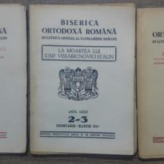 Biserica Ortodoxa Romana, buletinul oficial al Patriarhiei/ 1953
