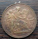 (M23) MEDALIE UNGARIA - MILLENNIUMI EMLEK 896-1896, FRANZ JOSEPH