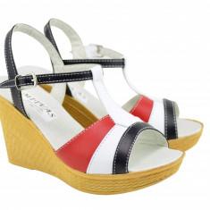 Sandale dama din piele naturala DENY - S45RAN