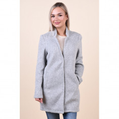 Palton Lung Vero Moda Brushed Katrine Gri