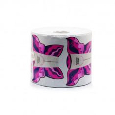 Sabloane constructie unghii, 500 buc Fluture Roz