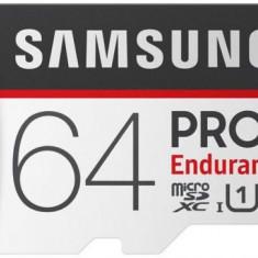 Card de memorie Samsung MicroSDXC Endurance, 64GB, Clasa 10, UHS-I (U1) + Adaptor SD