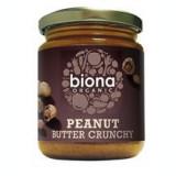 Unt de Arahide Crunchy fara Sare Bio Biona 250gr Cod: 5032722314870