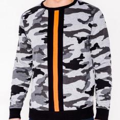 Bluza barbati B808 - gri-camuflaj