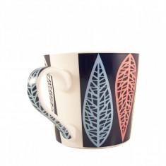 Cana ceramica COLOR LEAF 380 ml