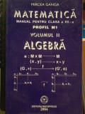 Mircea Ganga-Matematica. Algebra Manual pentru clasa a XII a Profil M1 Vol.2