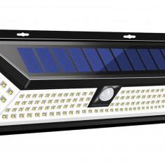 Lampa Solara Exterior 120 LED, senzor miscare, 1200 LM