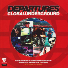 CD Global Underground: Departures, original: Hong Kong Trash, Liquid Language