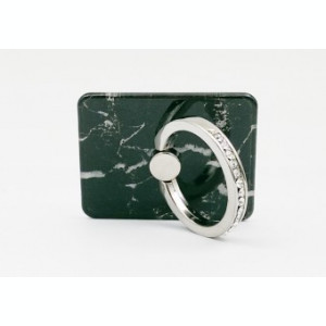 Suport telefon Diamonds tip inel metalic model Black Marble