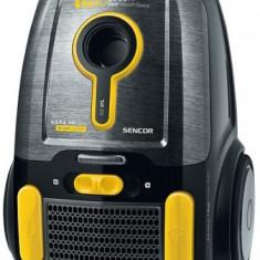 Aspirator cu sac Sencor SVC 8YL-EUE2, 2000W, 2.3l (Negru)