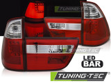 Stopuri LED compatibile cu Bmw X5 E53 09.99-10.03 Rosu Alb LED BAR