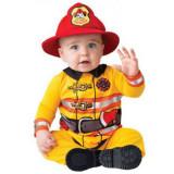 Costum bebe pompier