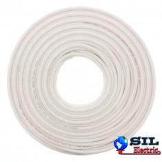 Cablu coaxial RG6/U, 75R, CCS/AL Chrome