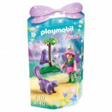 Set figurine Playmobil Fairies - Zana cu animale prietenoase (9140)