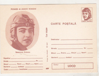 bnk cp - Pionieri ai aviatiei romane - Smaranda Braescu foto