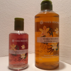 Set parfum Vanilie Bourbon 100ml + gel dus, Yves Rocher