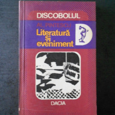 AL. PINTESCU - LITERATURA SI EVENIMENT