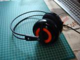 Casti Gaming SteelSeries Siberia v2 Heat Orange Iluminate -drivere 50mm -usb