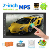 Mp5 Player 2Din auto 7'' Android 8.1 Wifi GPS MirrorLink