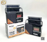 Radio portabil Solar 4 benzi, Bluetooth USB Card Functie Lampa