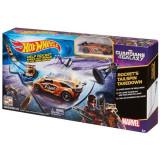 Hot Wheels Marvel Guardians of the Galaxy Rocket Raccoons Tailspin Playset, Mattel