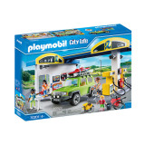 Set de joaca Playmobil City Life, Benzinarie