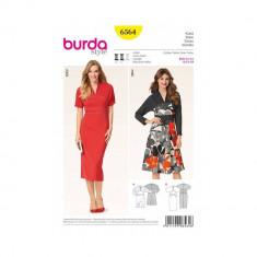 Tipar rochie Burda Style 6564