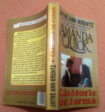 Casatorie de forma - Amanda Quick, Alta editura