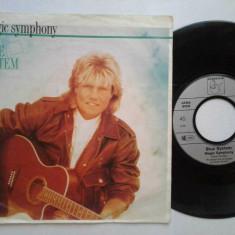 """Blue System - Magic Symphony (1989, Hansa) Disc vinil single 7"""""""