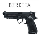 PISTOL AIRSOFT REPLIK BERETTA,FULL METAL,CALIBRU 6MM,PUTERE 400FPS+500 BILE.NOU!