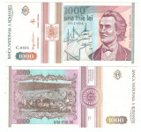 ROMANIA 1993 mai - 1000 lei XF+