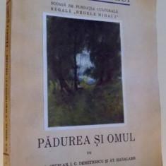 PADUREA SI OMUL DE D.A. SBURLAN...AT. HARALAMB
