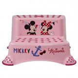 Inaltator cu doua trepte pentru toaleta si chiuveta Keeeper Mickey si Minnie 1003255214100, Multicolor