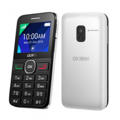 "Telefon Mobil Alcatel 2008G 2.4"" 2G 16 MB Alb"