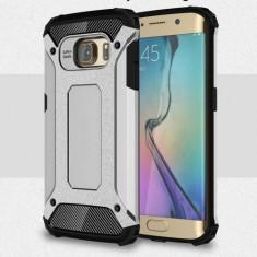 Husa Samsung Galaxy S6 Edge - Hybrid Armour Silver