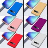 Husa de protectie 360' fata + spate Samsung S10 / S10e / S10 Plus / S10+, Alt model telefon Huawei, Albastru, Auriu, Mov, Negru, Rosu, Roz, Alt material