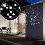 Decoratiune copac luminos cu 128 LED-uri, 160 cm, pentru exterior