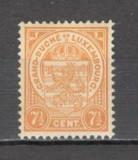 Luxemburg.1919 Stema de Stat  SL.707, Nestampilat